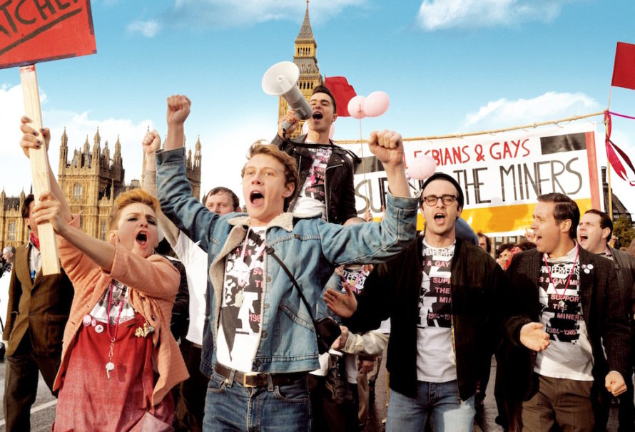 film review pride 2014 filmed in wales and london uk
