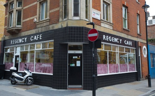 Photo: The Regency Cafe, London. Source: The Telegraph