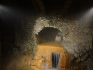 Water source in the Roman Baths