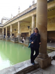 Me at the Baths in May 2014