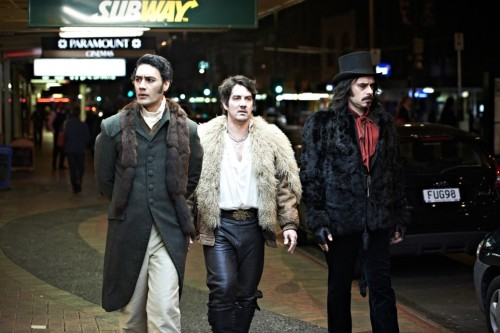 The vampire gang on a night-out in Wellington, NZ. Photo: rollingstone.