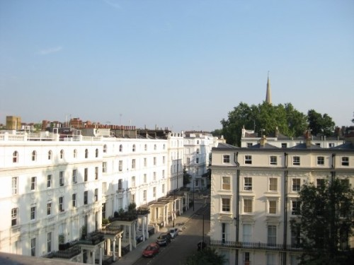 A view over Bayswater, London close to Notting Hill. © Sonja Irani / filmfantravel.com