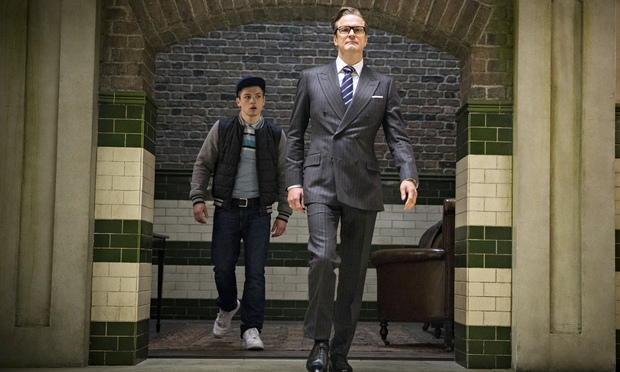 FILM REVIEW: Kingsman: The Secret Service (2014) – filmed in London, UK