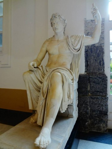 Statue in the museum