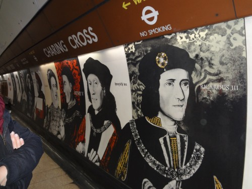 Underground installation at Charing Cross tube station