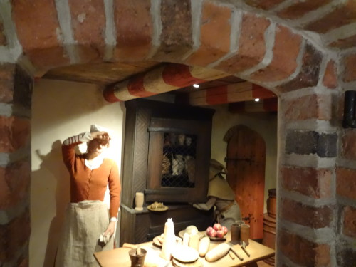 Inside the Medieval Museum
