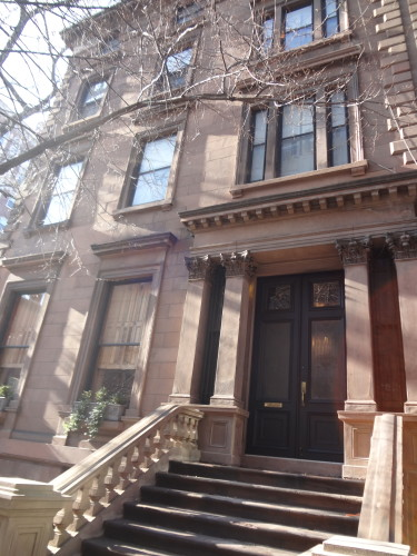 Currently the most expensive home in Brooklyn near the Promenade in Brooklyn Heights. © Sonja Irani / filmfantravel.com