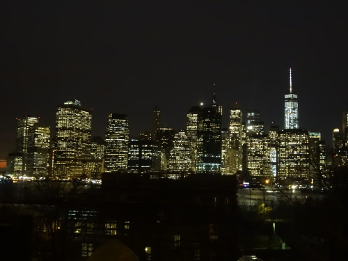 New York's skyline as seen from Brooklyn. © Sonja Irani / filmfantravel.com