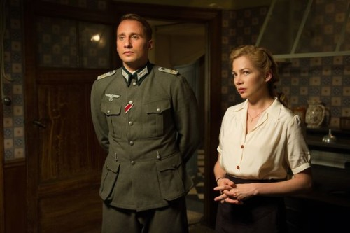"Forbidden love. Scene from ""Suite Francaise"". Photo: © universumfilm"