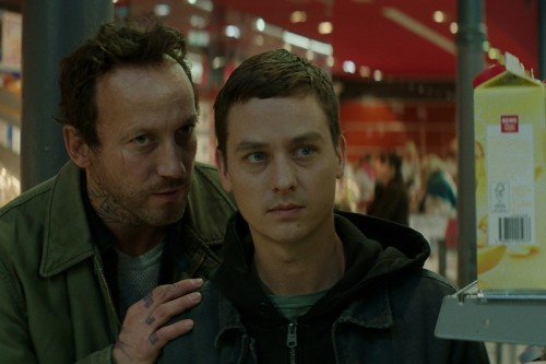 Life of Hackers. Wotan Wilke Möhring and Tom Schilling. Photo: Sony Pictures