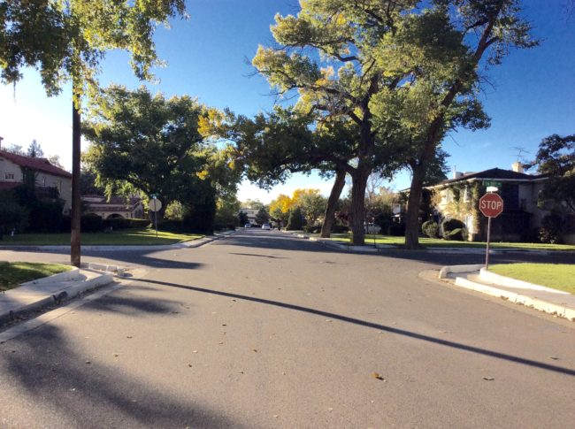 A street in Albuquerque, New Mexico that was used as a filming locations for Breaking Bad. © Sonja Irani / filmfantravel.com