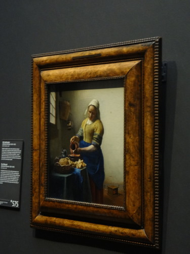 A real Vermeer inside the Rijksmuseum!
