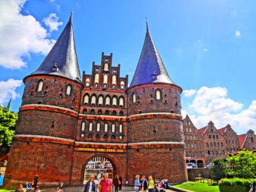 The gateway to Lübeck: Holstentor