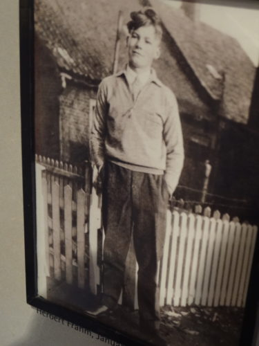 Willy Brandt as a 16-year-old lad in Lübeck.