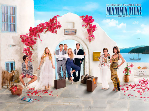 "The cast of ""Mamma Mia!"" © Universal Studios"