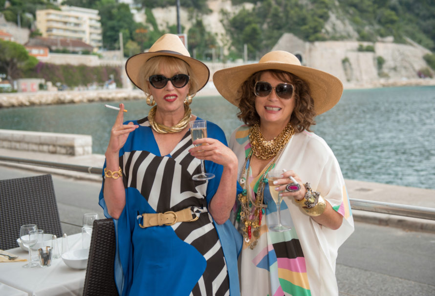 FILM REVIEW: Absolutely Fabulous (2016) – filmed in London, UK and the South of France