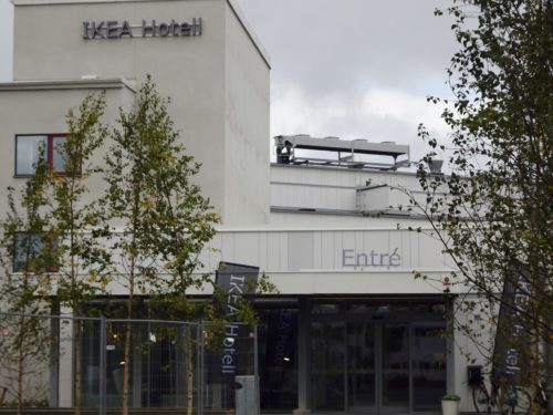 The new IKEA hotel in Älmhult, Sweden