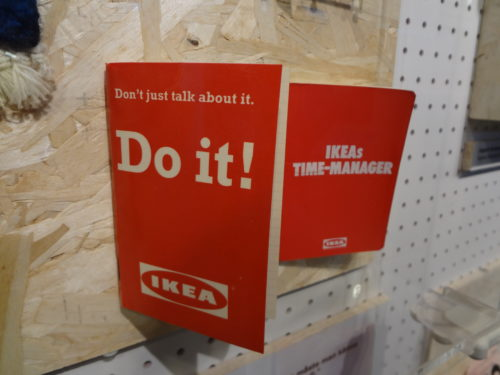 """Do it yourself"" inspiration at the IKEA museum in Älmhult, Sweden"