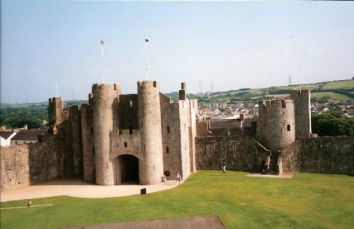 Pembroke Castle. Photo: Wikipedia Commons / Eirian Evans