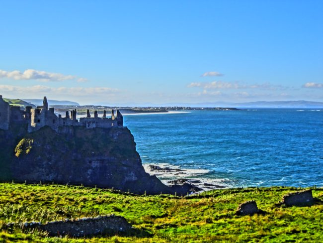One of the Irish castle ruins used as a filming location for 'Game of Thrones'. Photo: Sonja Irani