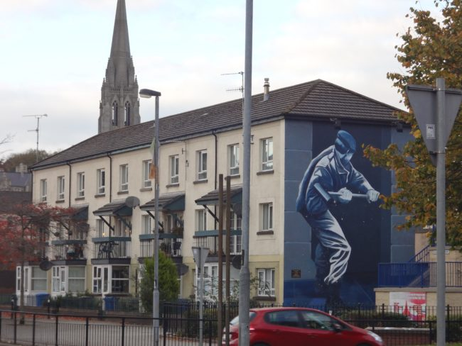 Murals in Derry, Northern Ireland. Photo: Sonja Irani