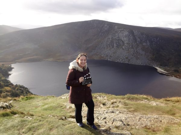 At Wicklow Mountains – the filming location of 'Vikings'. Photo: Sonja Irani