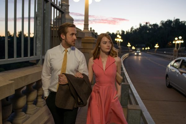 "Emma Stone and Ryan Gosling in ""La La Land"". Photo by Dale Robinette / Lionsgate"