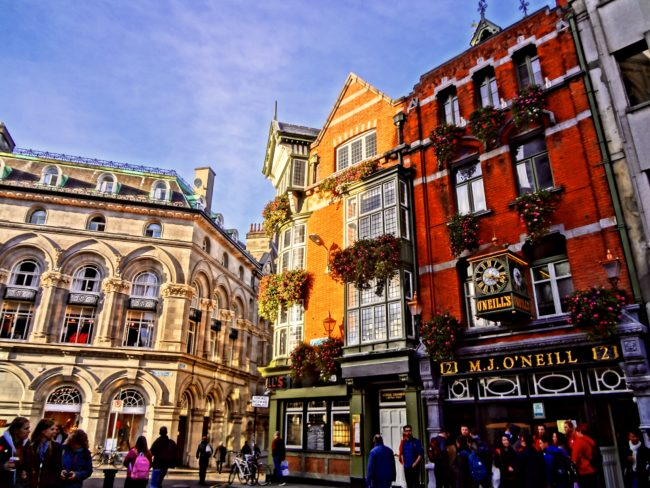 Dublin, the capital of Ireland. Photo: Sonja Irani