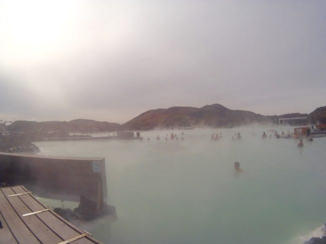 Relax at the Blue Lagoon (or try the cheaper alternative with a soak in a public thermal bath)