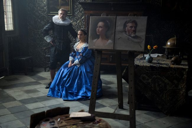 "Scene from ""Tulip Fever"". © The Weinstein Company"